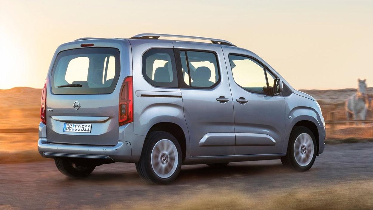 Opel Combo 5 вид сзади