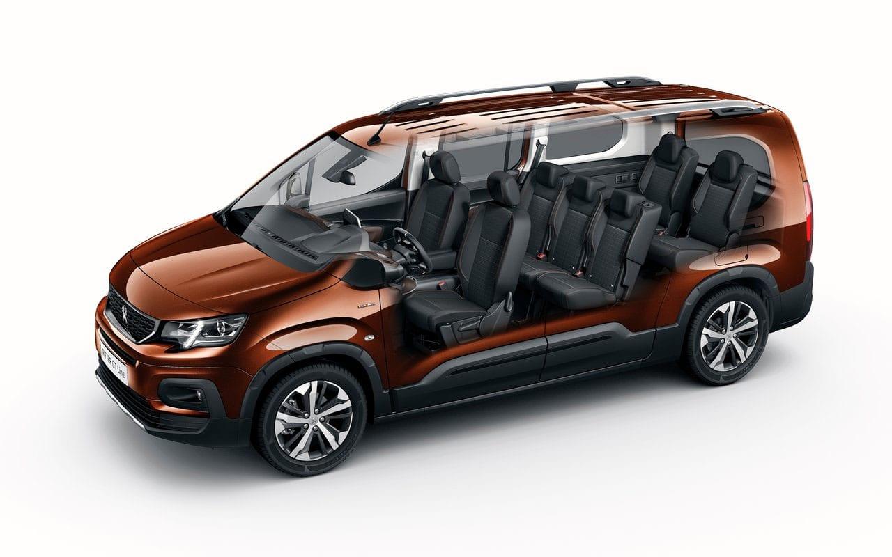 Peugeot Rifter салон