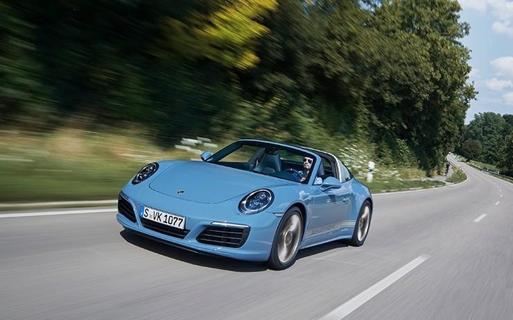 Porsche 911 фото вид спереди