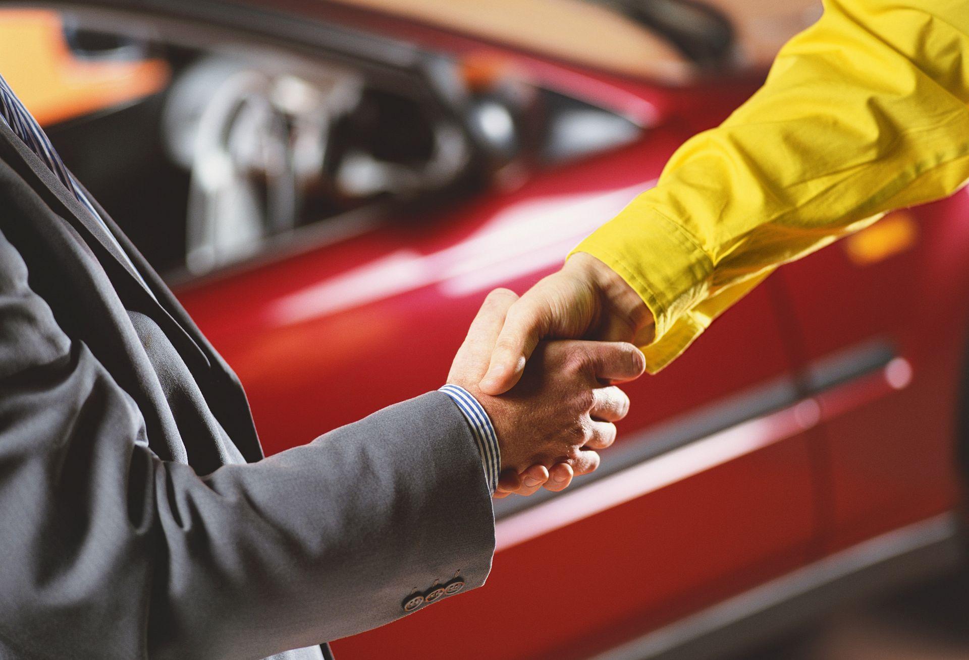 Продать подержанный автомобиль