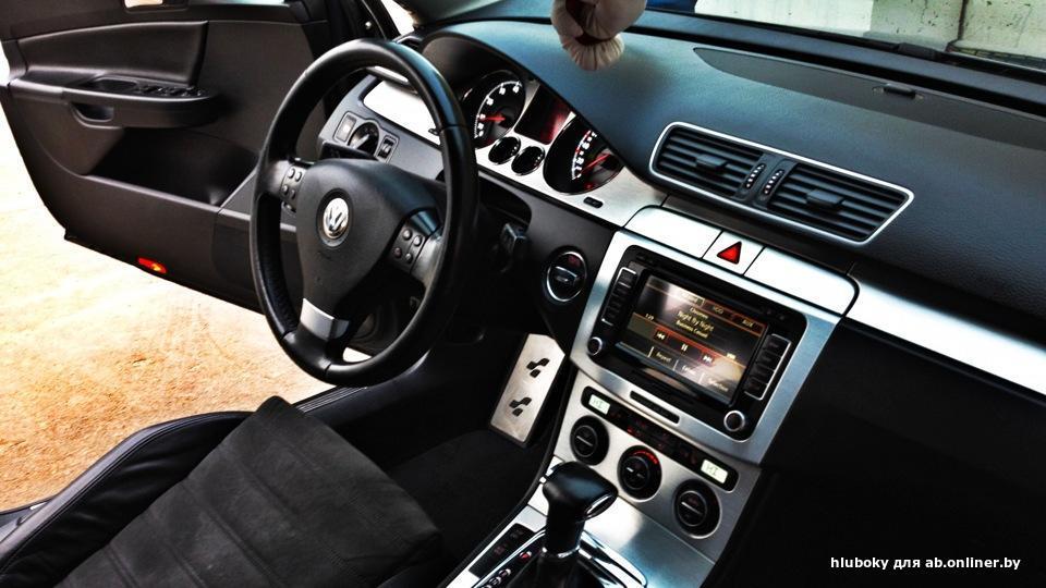 Volkswagen Passat B6 салон