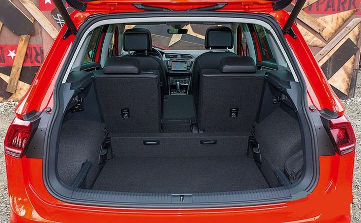 Volkswagen Tiguan багажник