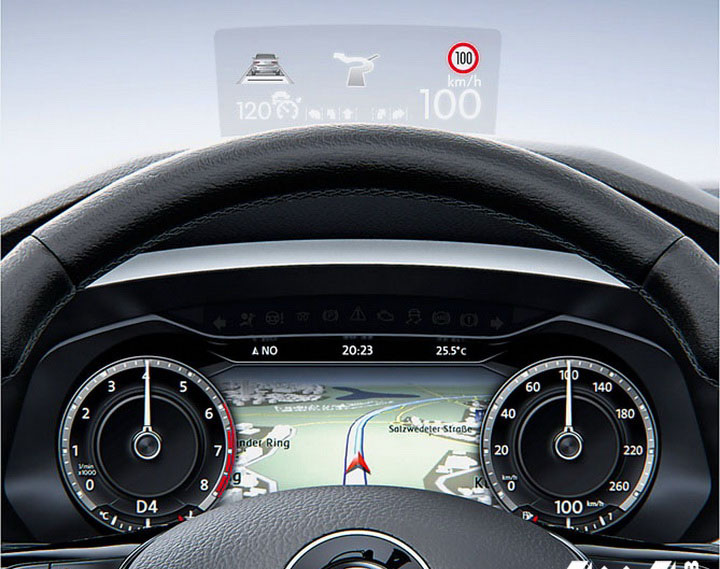 Volkswagen Tiguan панель приборов