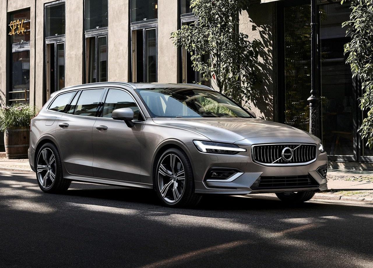 Volvo V60 новый фото