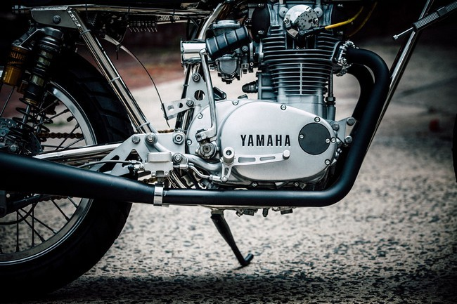 Yamaha XS 650 мотор
