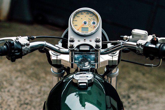 Yamaha XS 650 руль
