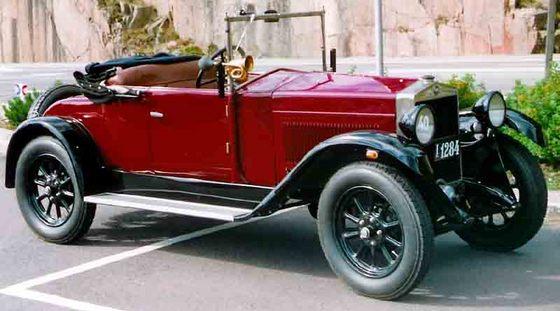 автомобиль Женевского автосалона 1925