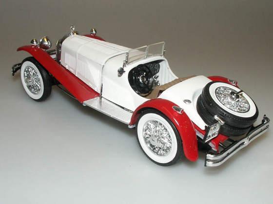 Лучший автомобиль Женевского автосалона 1929 года — Mercedes Benz SSK 82-vi