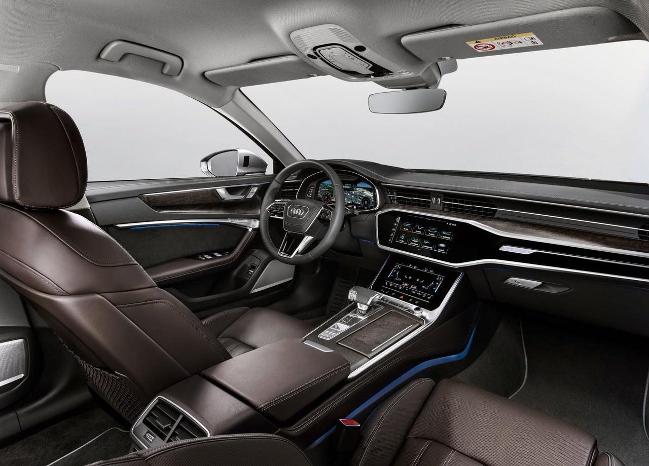 Audi A6 фото передние сидения