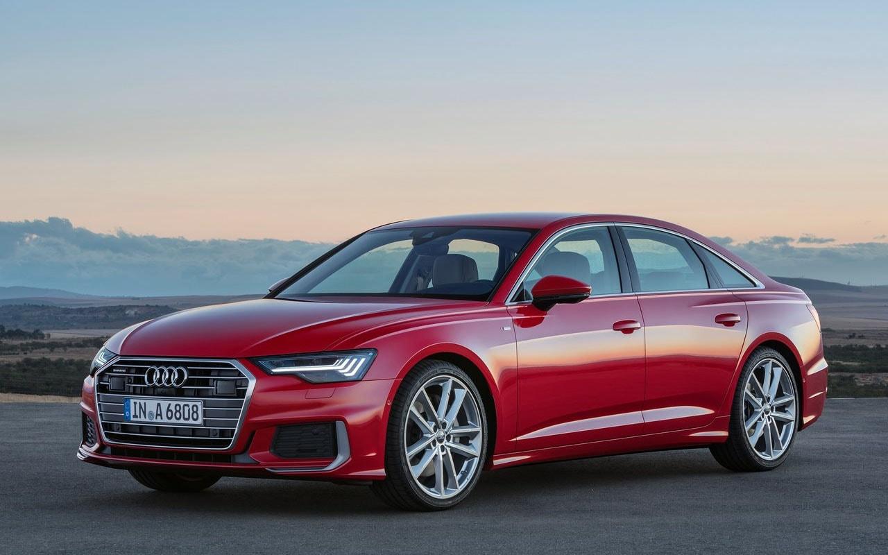 Audi A6 фото сбоку