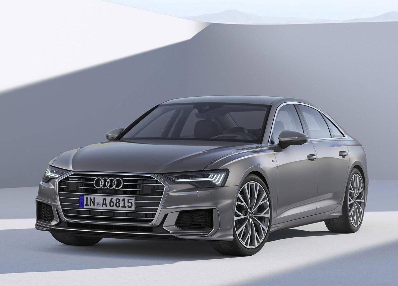 Audi A6 фото спереди