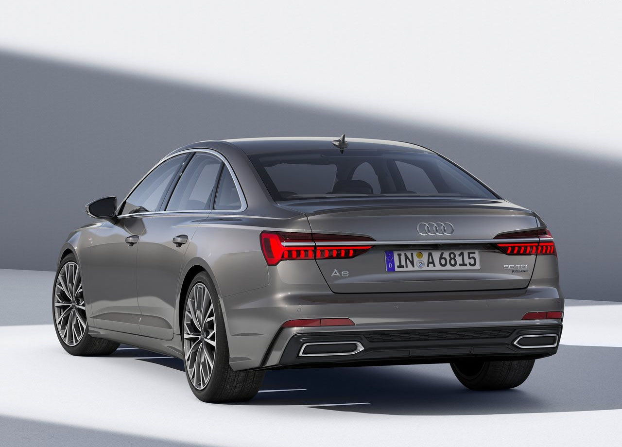 Audi A6 фото сзади