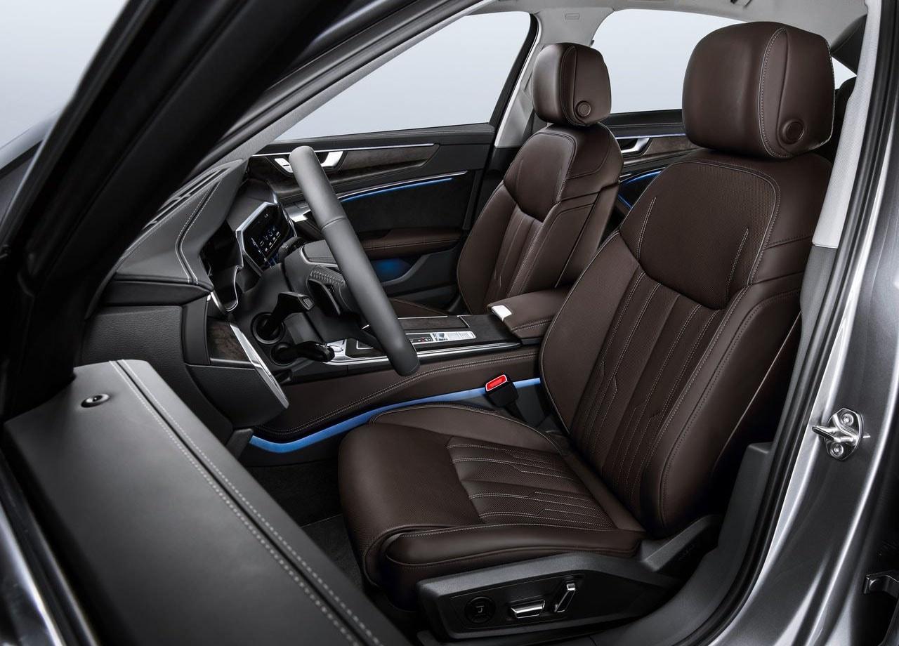 Audi A6 салон передние сидения