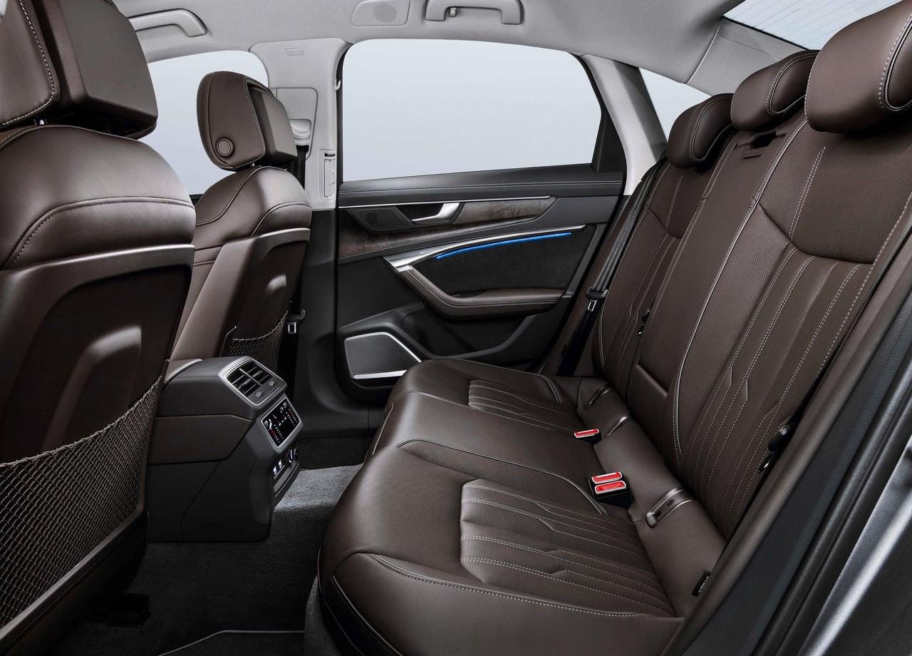 Audi A6 салон задние сидения