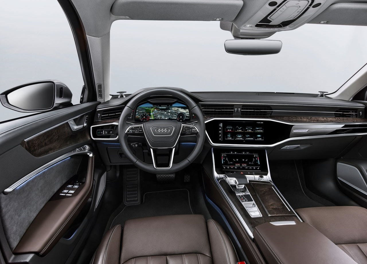 Audi A6 салон