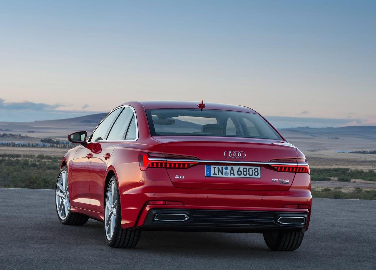 Audi A6 сзади