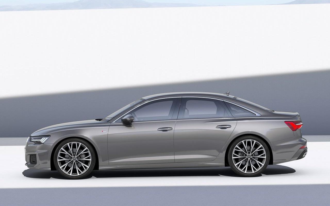 Audi A6 вид сбоку