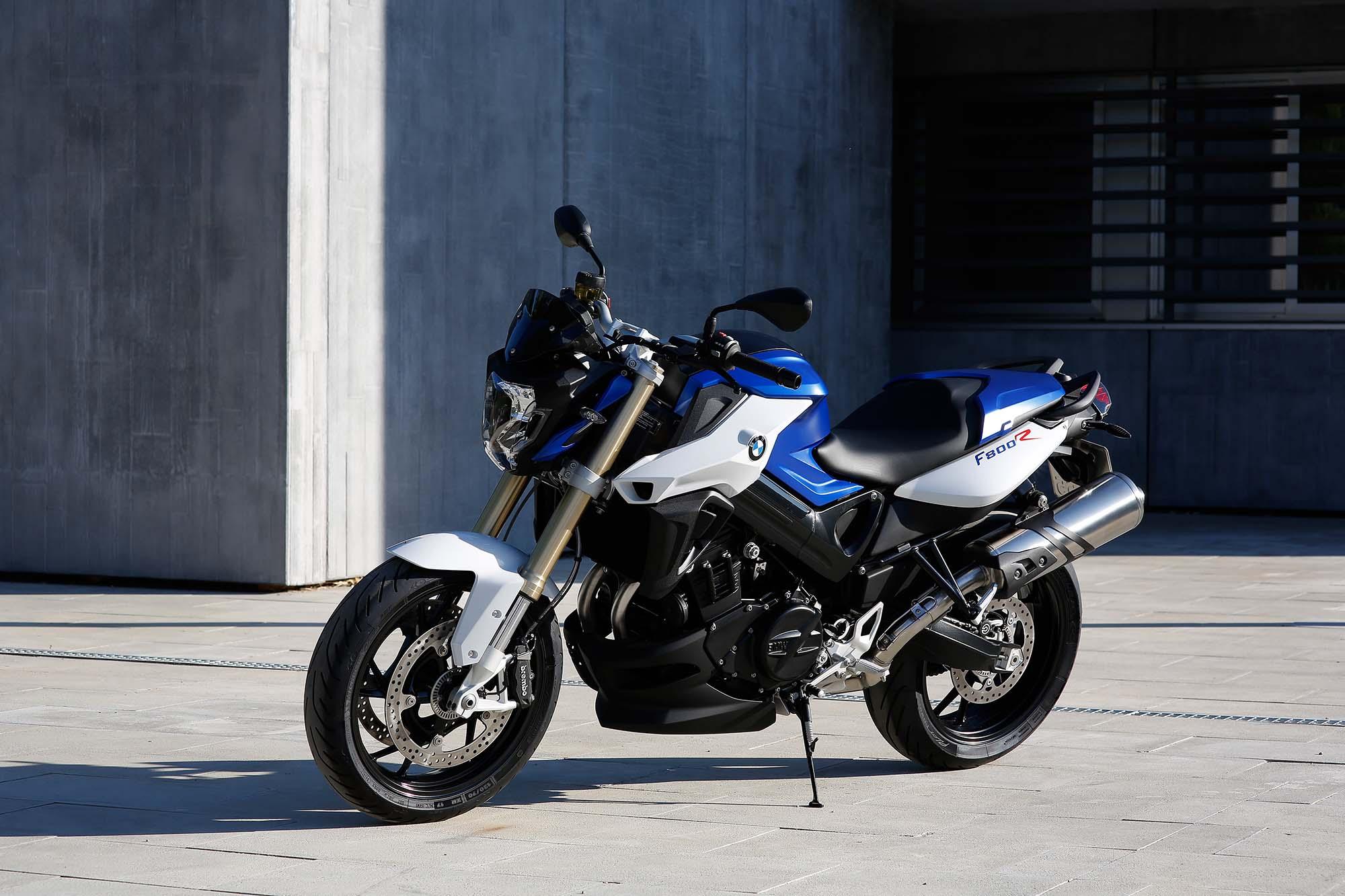BMW F800R фото