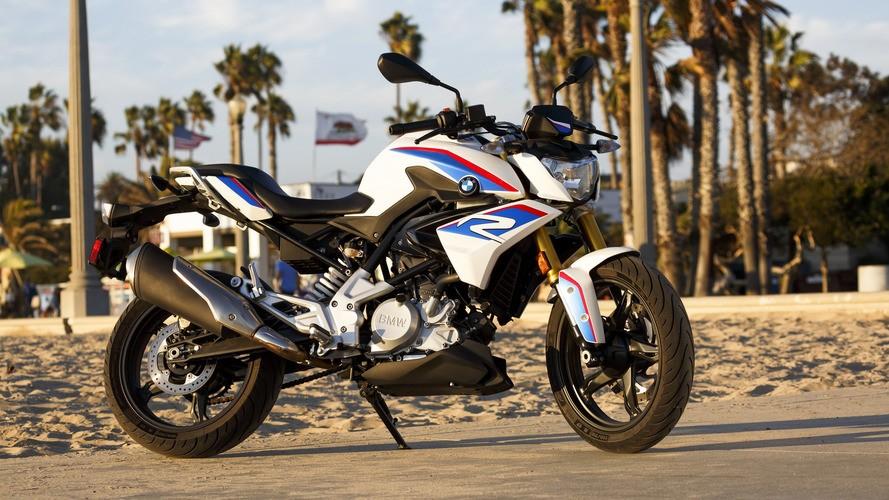 BMW G 310 R вид спереди