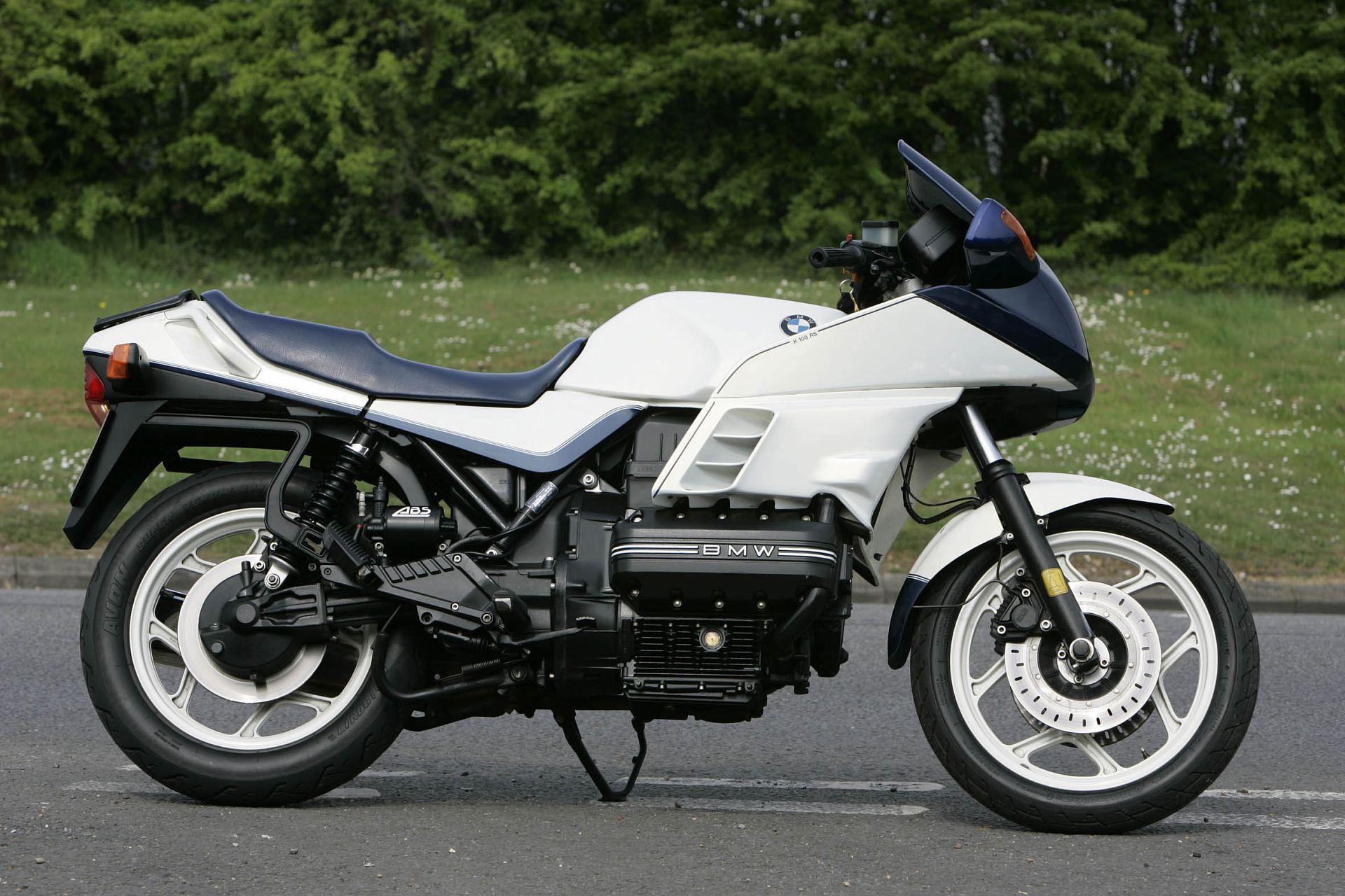 BMWK100RS фото сбоку
