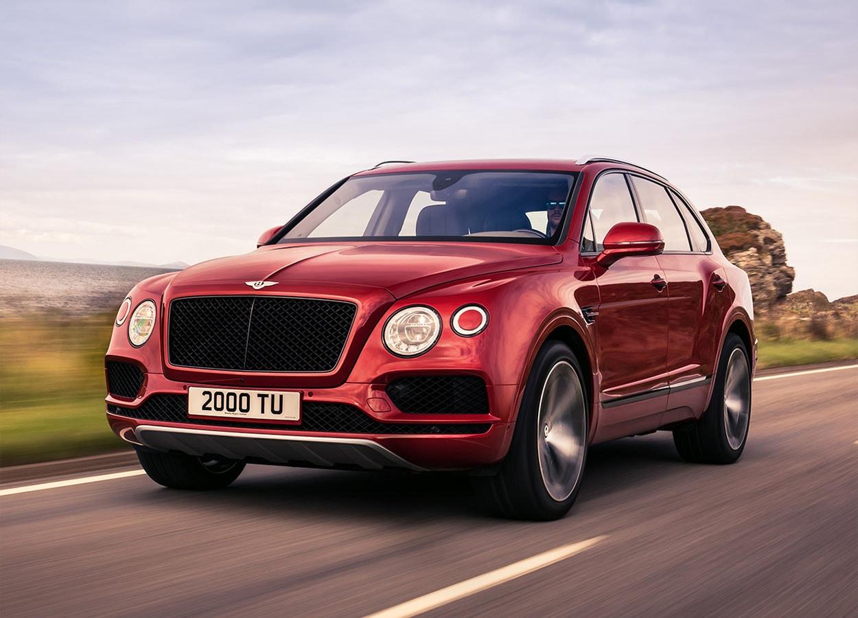 Bentley Bentyago V8 вид спереди