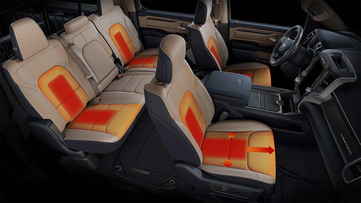 Dodge Ram 1500 салон обзор
