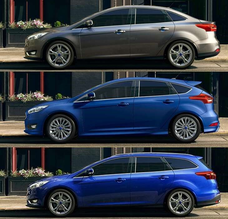 Ford Focus вирианты