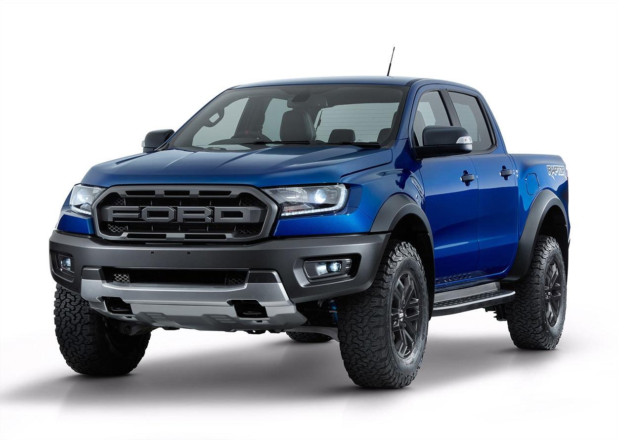 Ford Ranger Raptor фото спереди