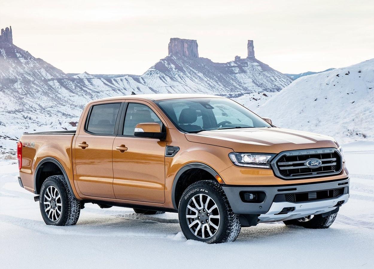 Ford Ranger фото сбоку