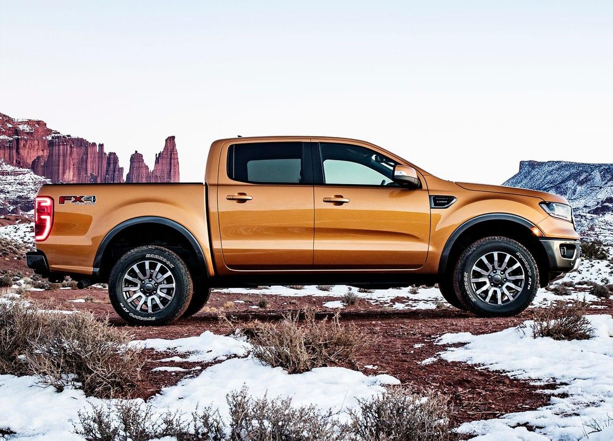 Ford Ranger фото вид сбоку
