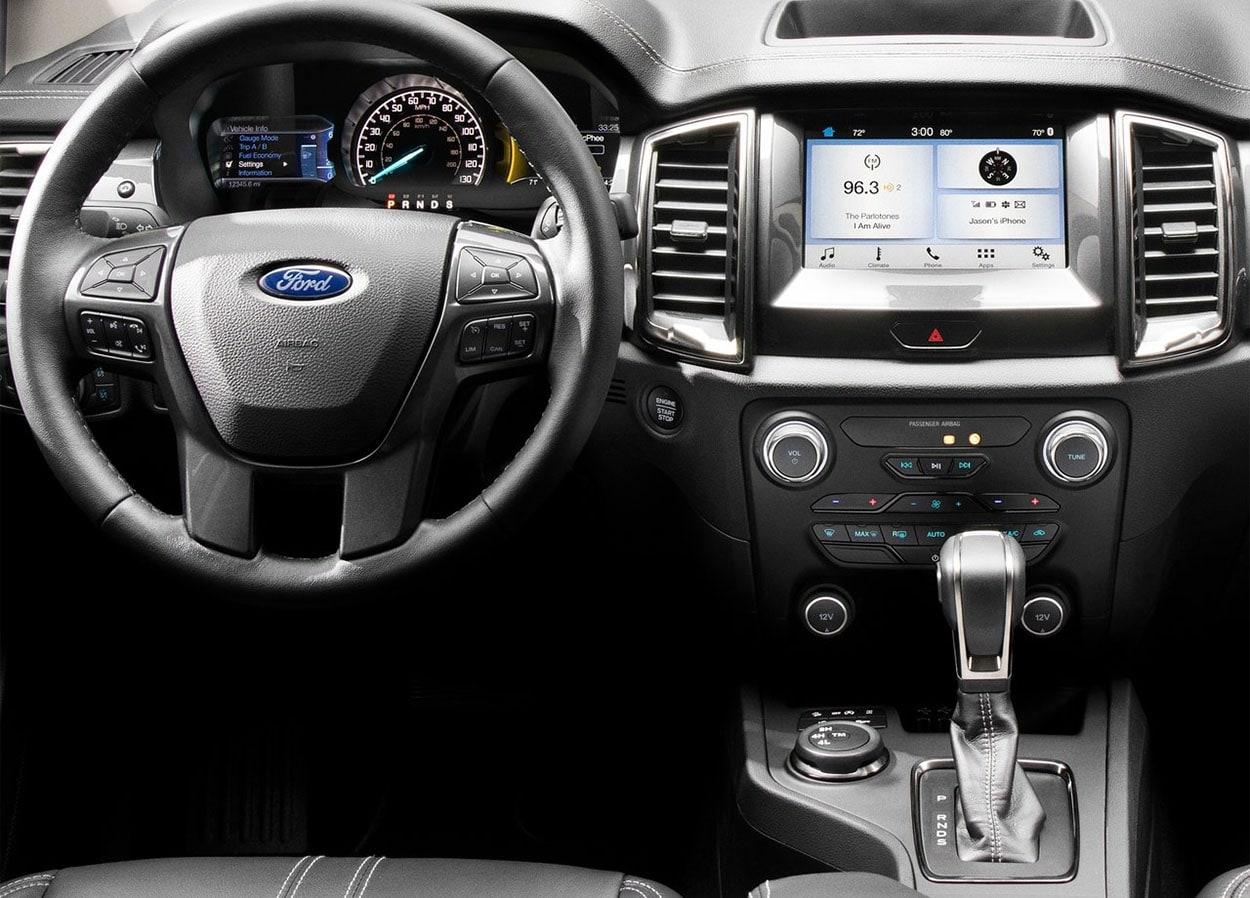 Ford Ranger панель приборов