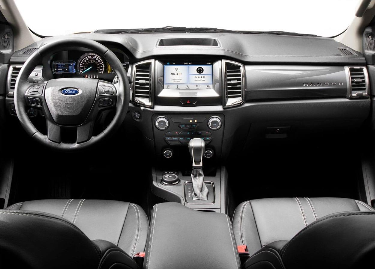 Ford Ranger салон