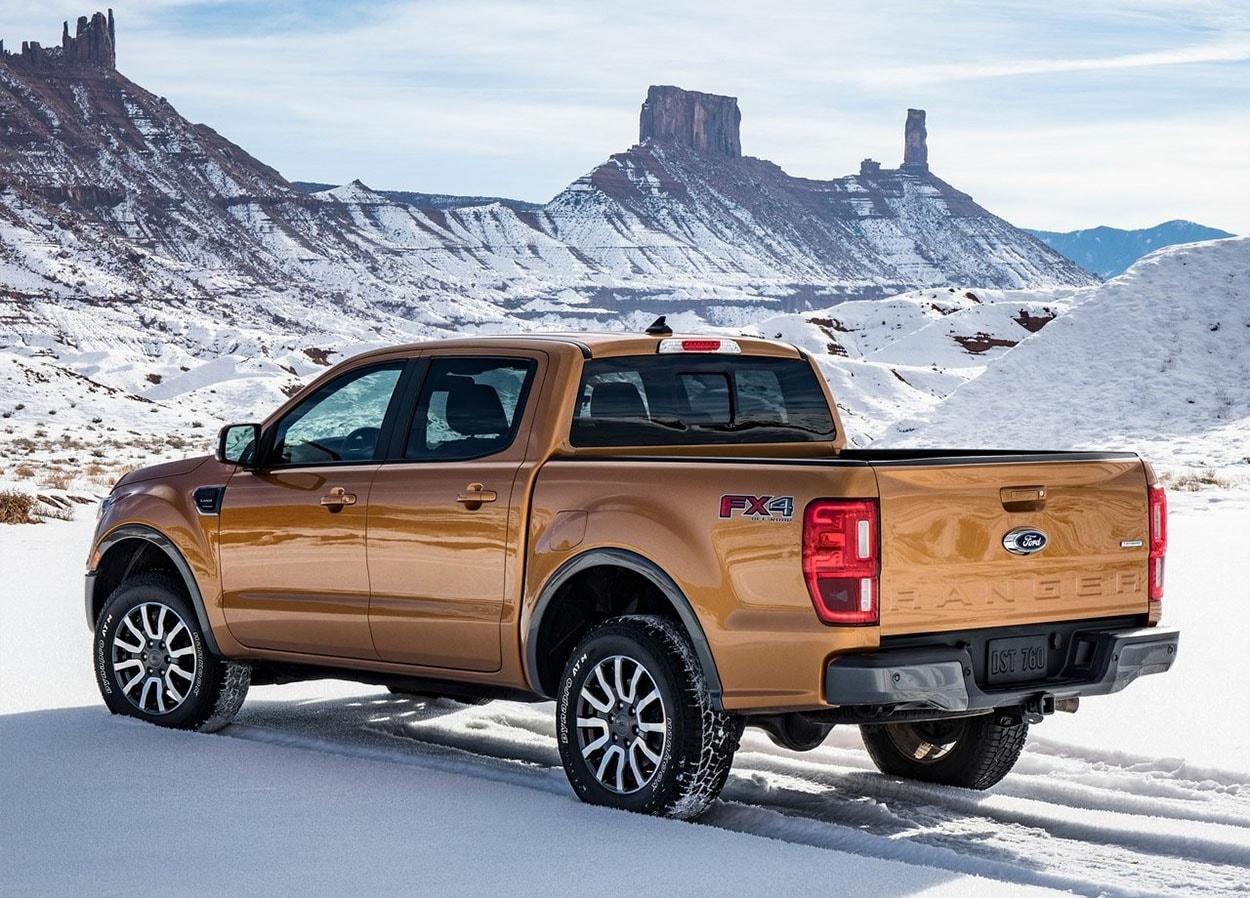 Ford Ranger сбоку