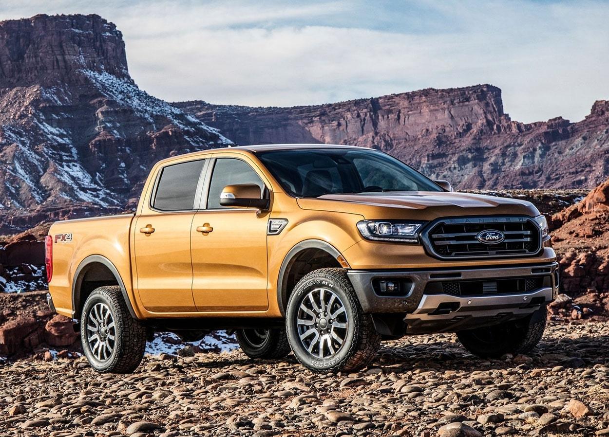 Ford Ranger вид сбоку