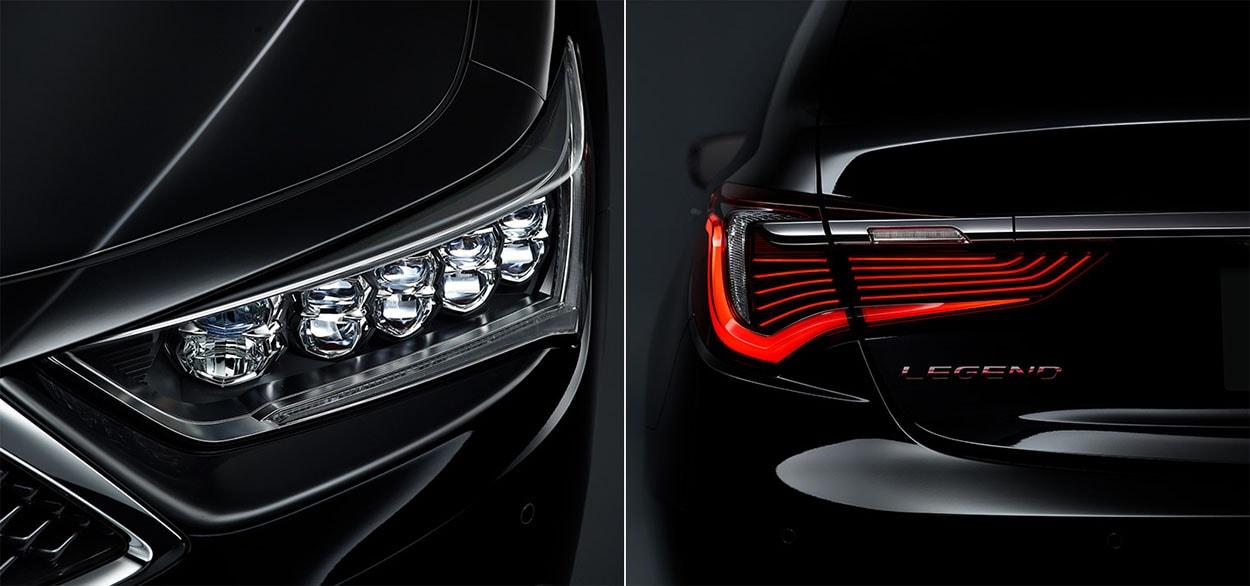 Хонда Легенд детали кузова