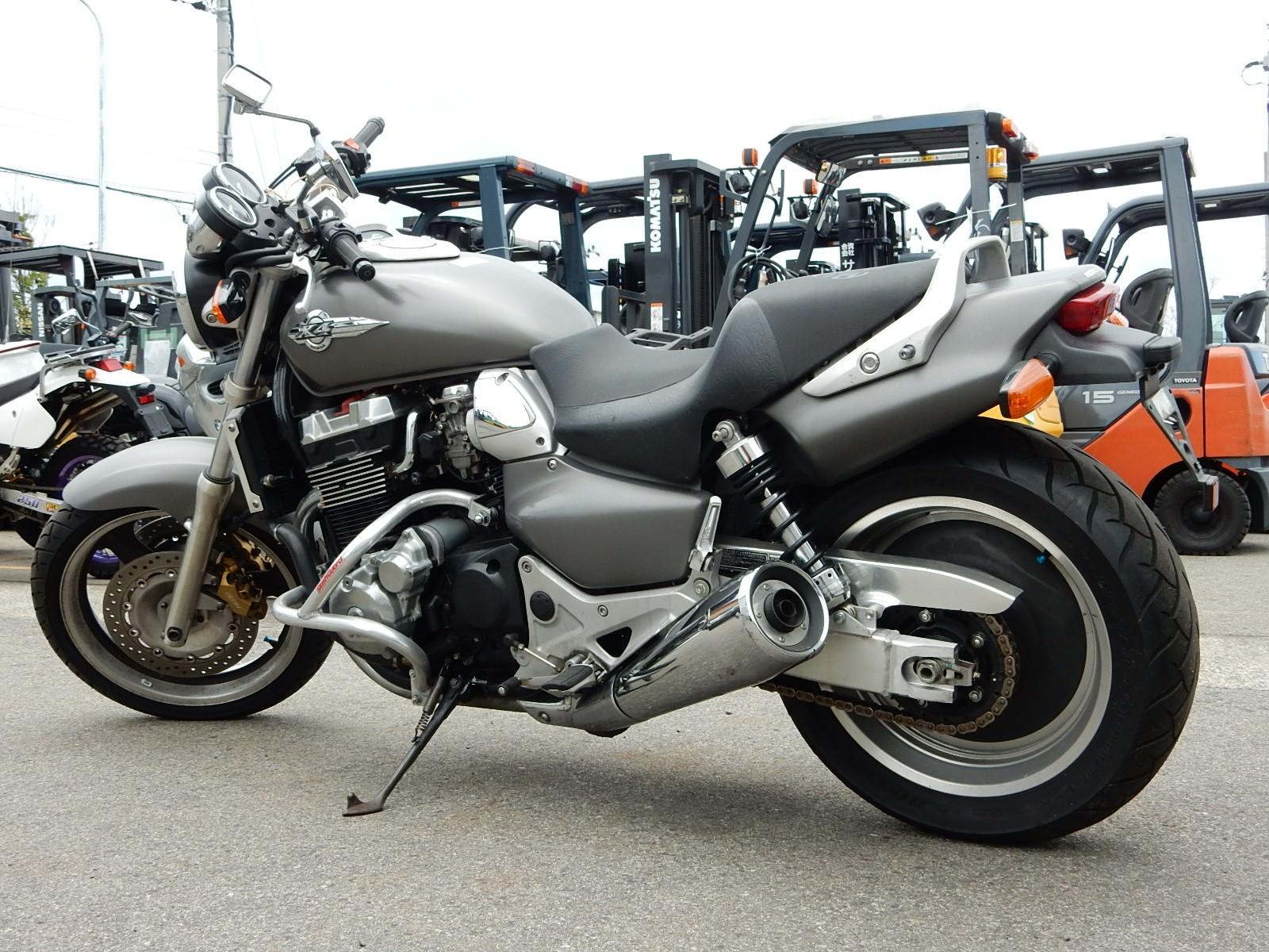 Honda X4 сбоку, хонда х4 мотоцикл