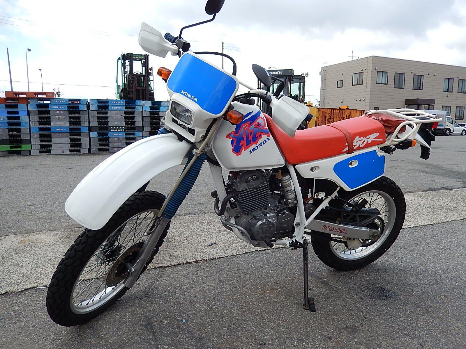 Honda XLR 250 фото сбоку