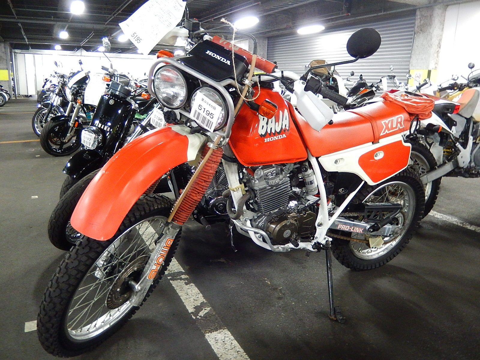 Honda XLR 250 сбоку