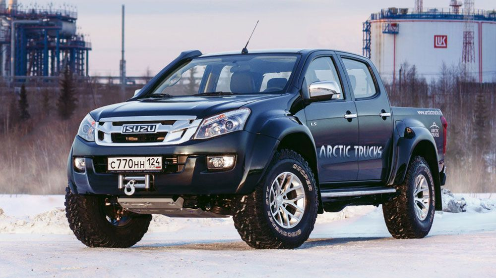 Isuzu D Max AT35 фото