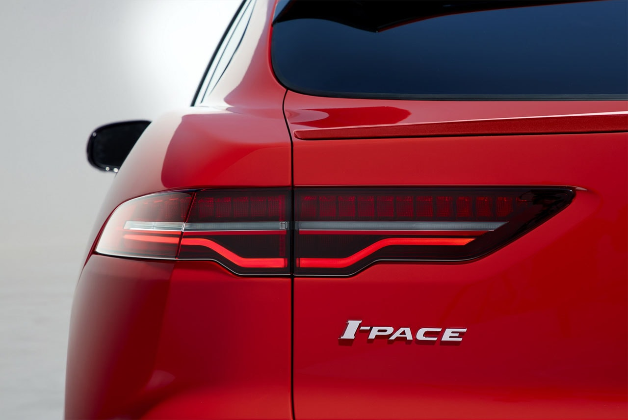 Jaguar I-Pace фонари
