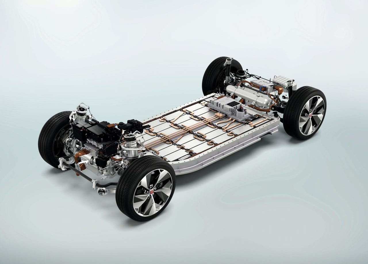 Jaguar I-Pace подвеска