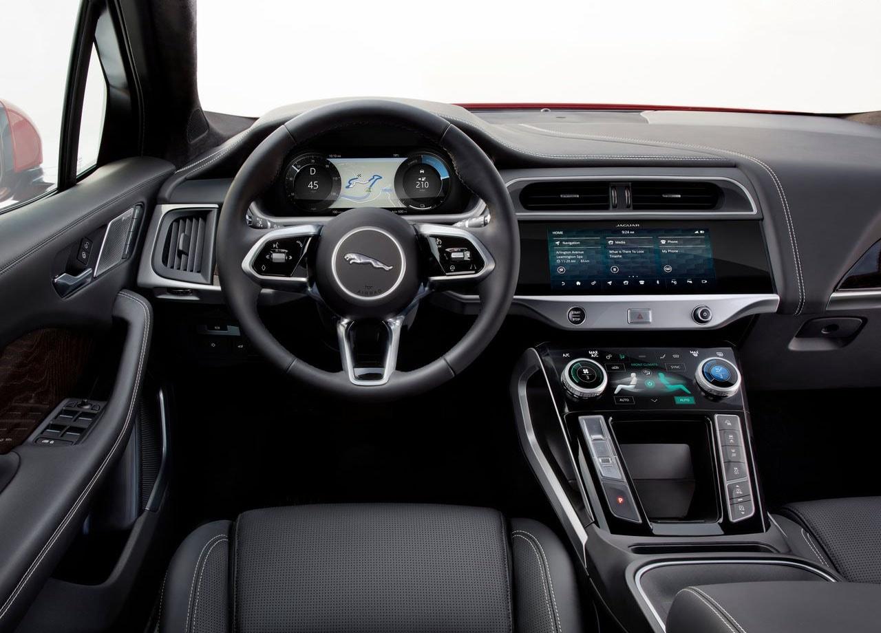 Jaguar I-Pace салон