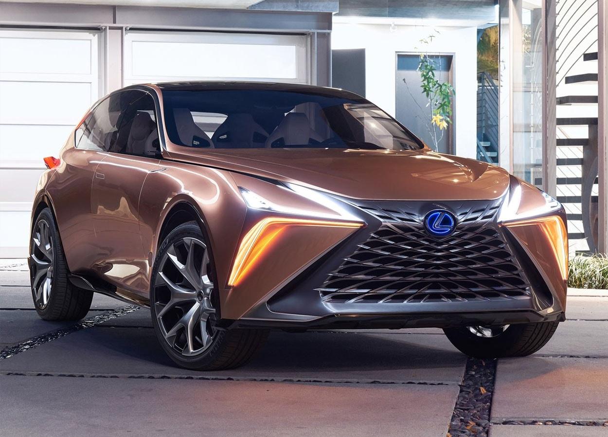Lexus LF-1 Limitless Concept фото спереди
