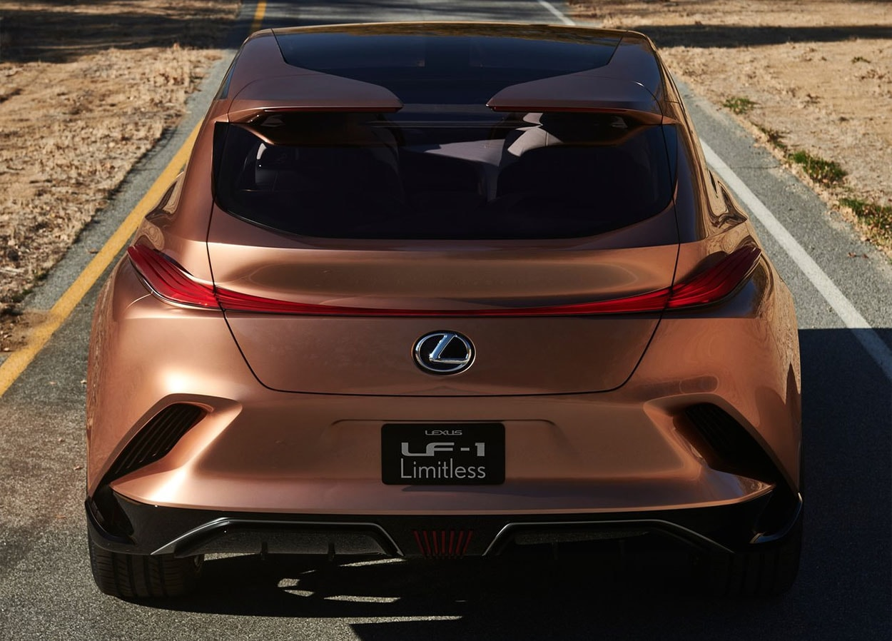 Lexus LF-1 Limitless Concept фото вид сзади