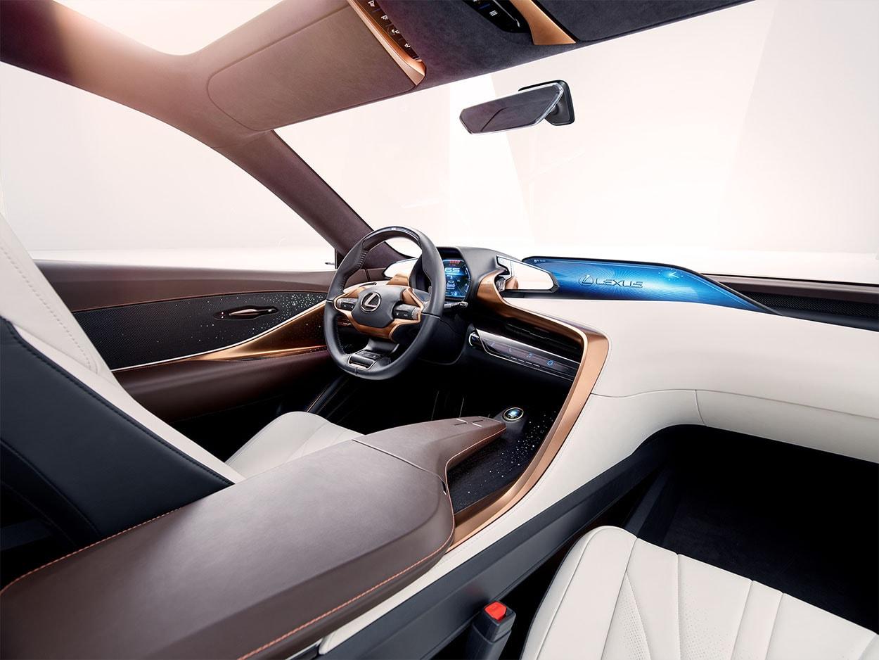 Lexus LF-1 Limitless Concept передние сидения