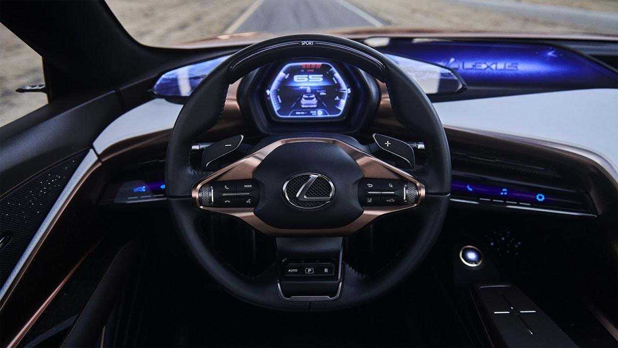 Lexus LF-1 Limitless Concept руль
