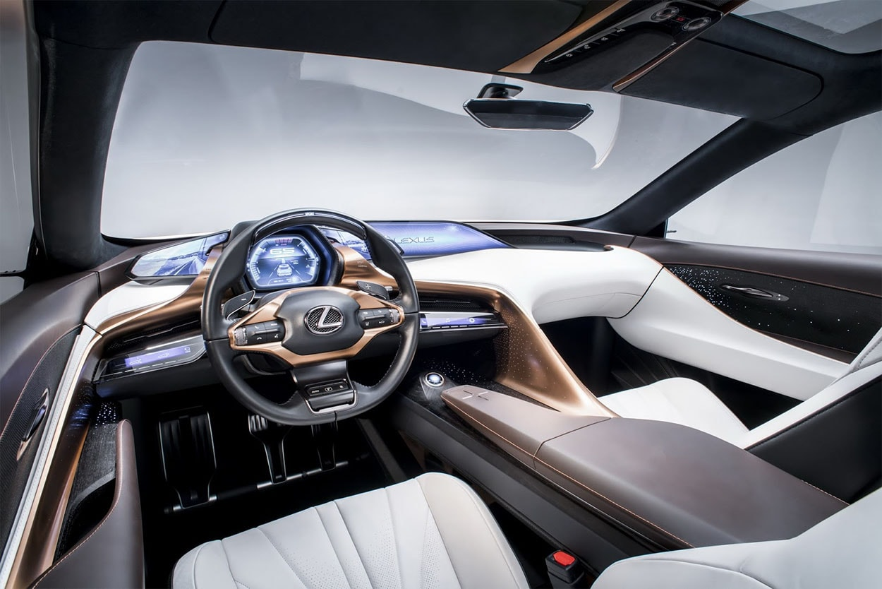 Lexus LF-1 Limitless Concept салон