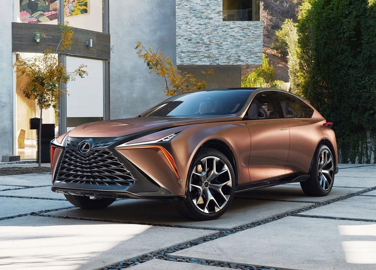 Lexus LF-1 Limitless Concept спереди