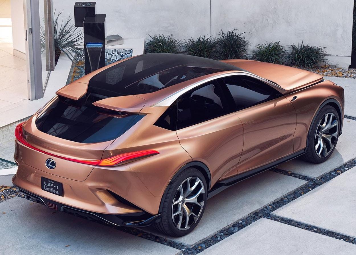 Lexus LF-1 Limitless Concept вид сверху