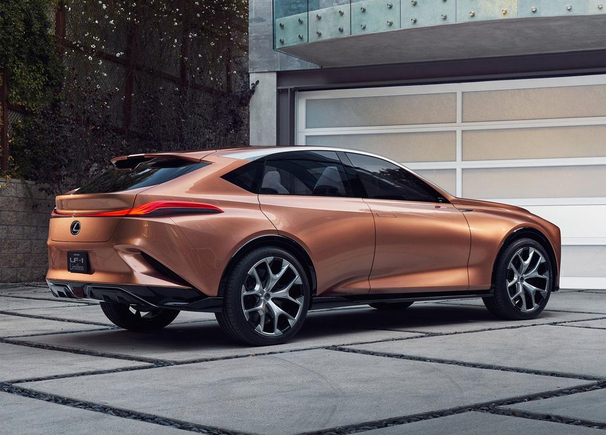 Lexus LF-1 Limitless Concept вид сзади